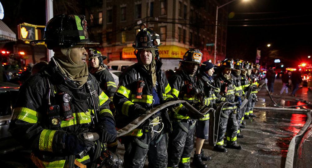 Жертвами пожара вНью-Йорке стали девять человек