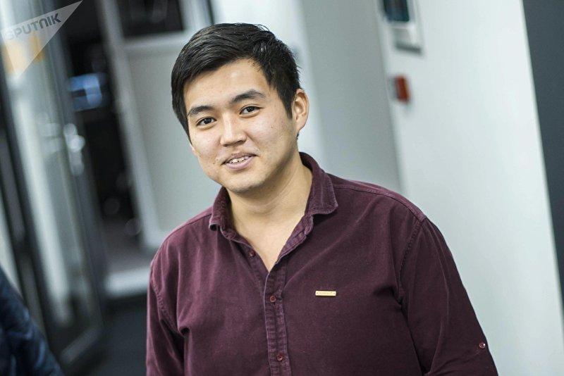Журналист информационного агентства Sputnik Кыргызстан Максат Элебесов