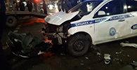 В Бишкеке столкнулись спецмашина ГУВД и два внедорожника — видео с места ДТП
