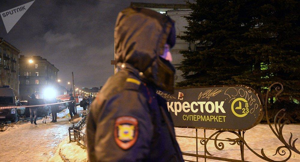 ФСБ: схвачен предполагаемый организатор взрыва в«Перекрестке»