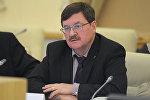 Ведущий эксперт центра военно-политических исследований МГИМО Владимир Козин. Архивнео фото