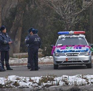 Подготовка к новому году в Бишкеке
