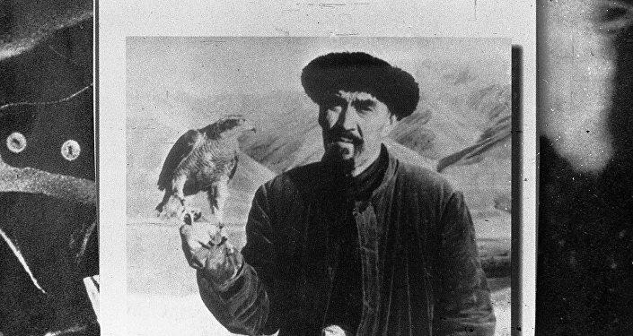 Кыргызский силач, баатыр Каба уулу Кожомкул