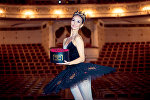 Заслуженная артистка КР, балерина Айзада Тумакова