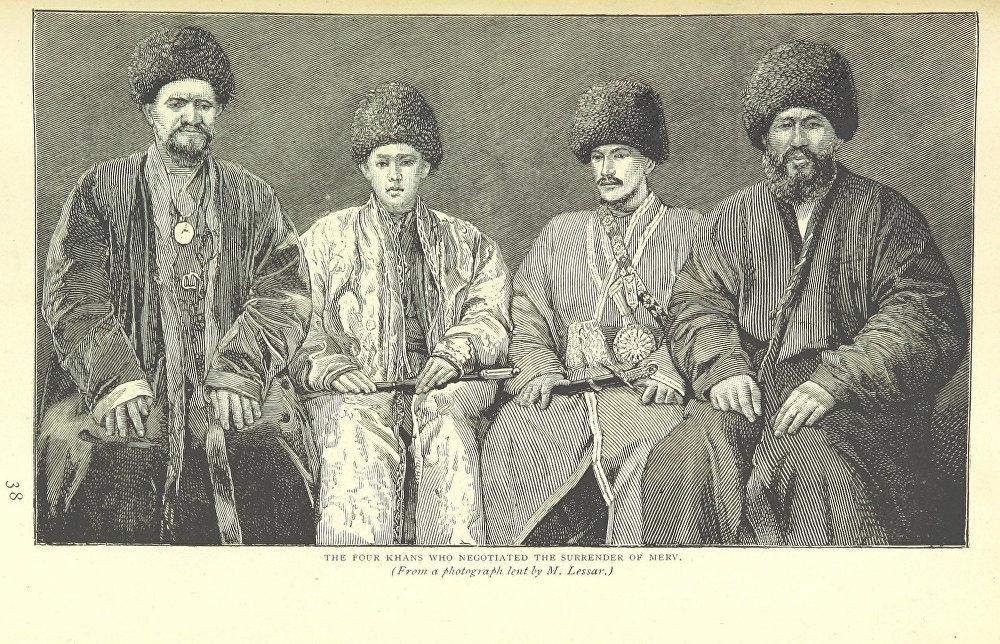 Түркмөнстандын түштүк-чыгыш бөлүгүндө жайгашкан Мерв шаарын басып алууну сүйлөшүп жаткан төрт эмир