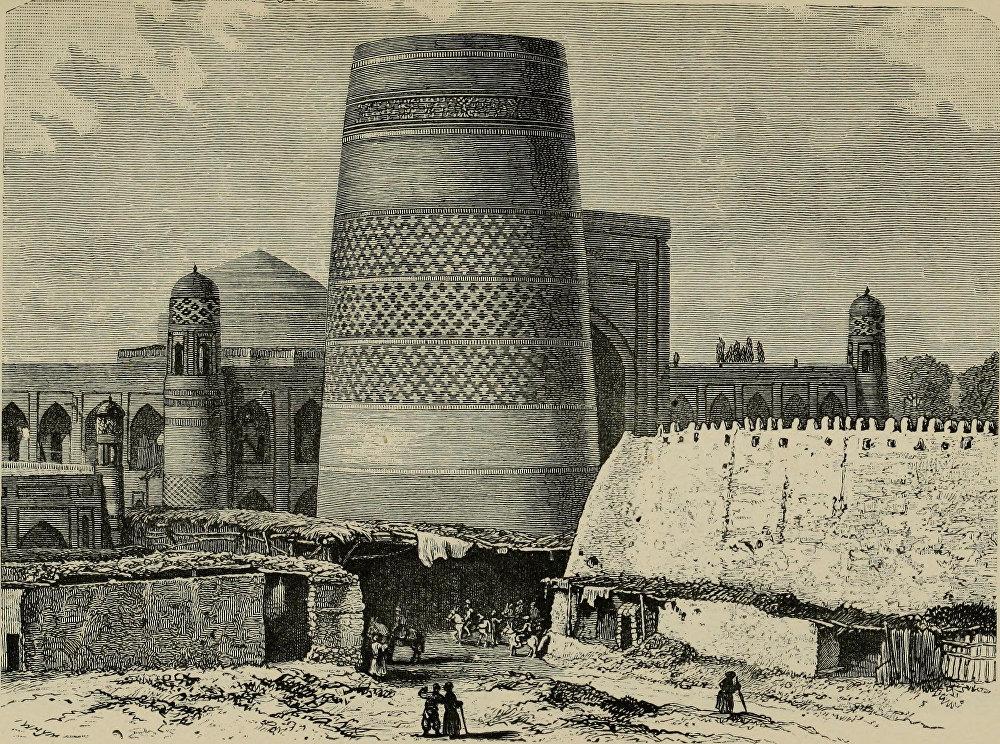 Самарканддын 1882-жылы тартылган сүрөтү