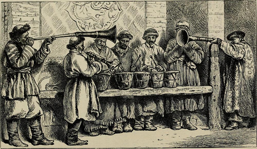 Бухарадагы музыканттар