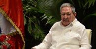 Кубанын Мамлекеттик Кеңешинин төрагасы Рауль Модесто Кастро Русту. Архивдик сүрөт