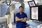 Рентгенохирург жана медициналык радиология боюнча адис Руслан Шаршебаев