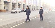 Сотрудники ГУОБДД вышли на работу в новой форме — видео