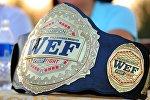 Чемпионский пояс WEF. Архивное фото