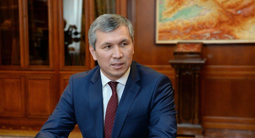 Первый заместитель руководителя аппарата президента Акрам Мадумаров