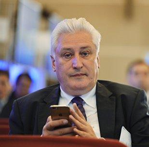 Военный эксперт, главный редактор журнала Национальная оборона Игорь Коротченко. Архивное фото