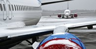Самолеты во аэропорту. Архивное фото