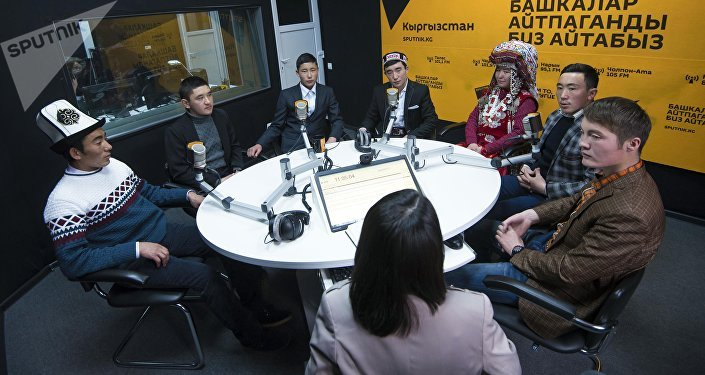 Памирские кыргызы в студии ИА Sputnik Кыргызстан
