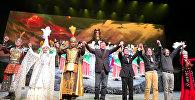 Кытай эл республикасында айтылуу манасчы Жусуп Мамайдын варианты менен жазылган Манас эпосунун негизинде кытай тилинде экинчи ирет опера коюлду