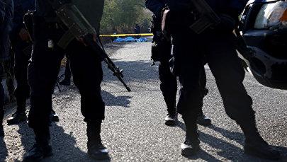 Сотрудники полиции Мексики. Архивное фото