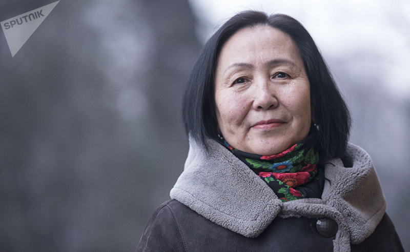 Писательница, активистка женского движения Топчугуль Шайдуллаева