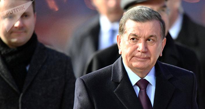 Архивное фото президента Республики Узбекистан Шавката Мирзиеева