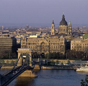 Будапешт шаары. Венгрия. Архив