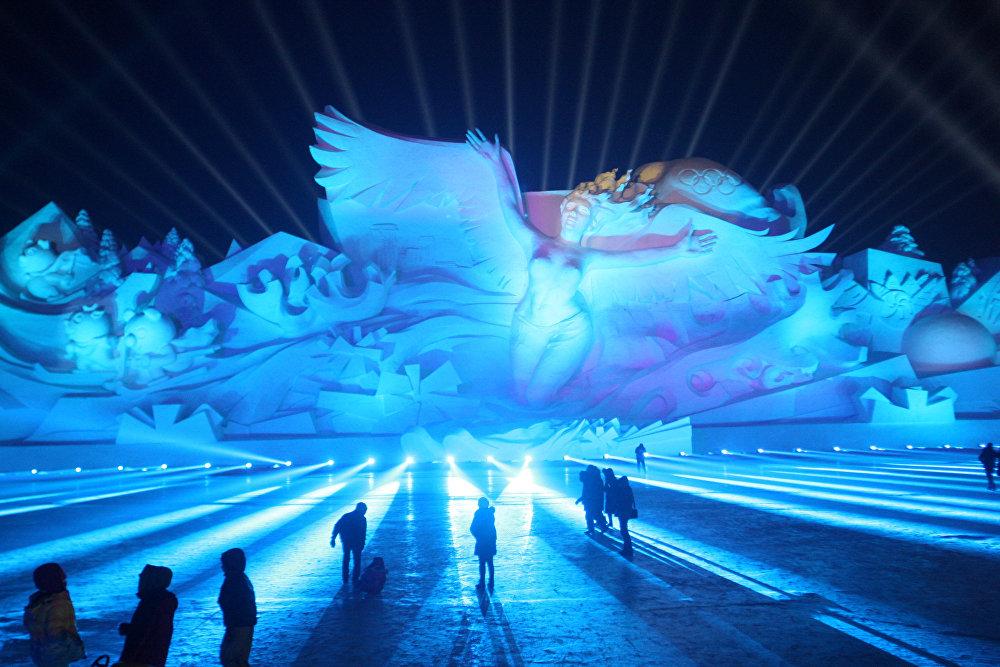 34-й Харбинский Международный фестиваль льда и снега