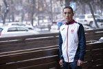 Кыргызстанский спортсмен Адилет Кыштакбеков, победивший в марафонев китайском городе Куньмине, организованном Шанхайской организацией сотрудничества