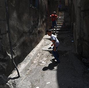 Сириядагы балдар. Архивдик сүрөт