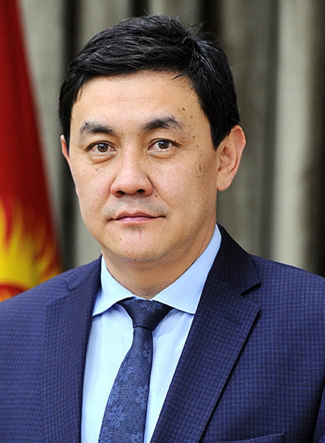Председатель Государственной службы регулирования и надзора за финансовым рынком КР Санжар Муканбетов