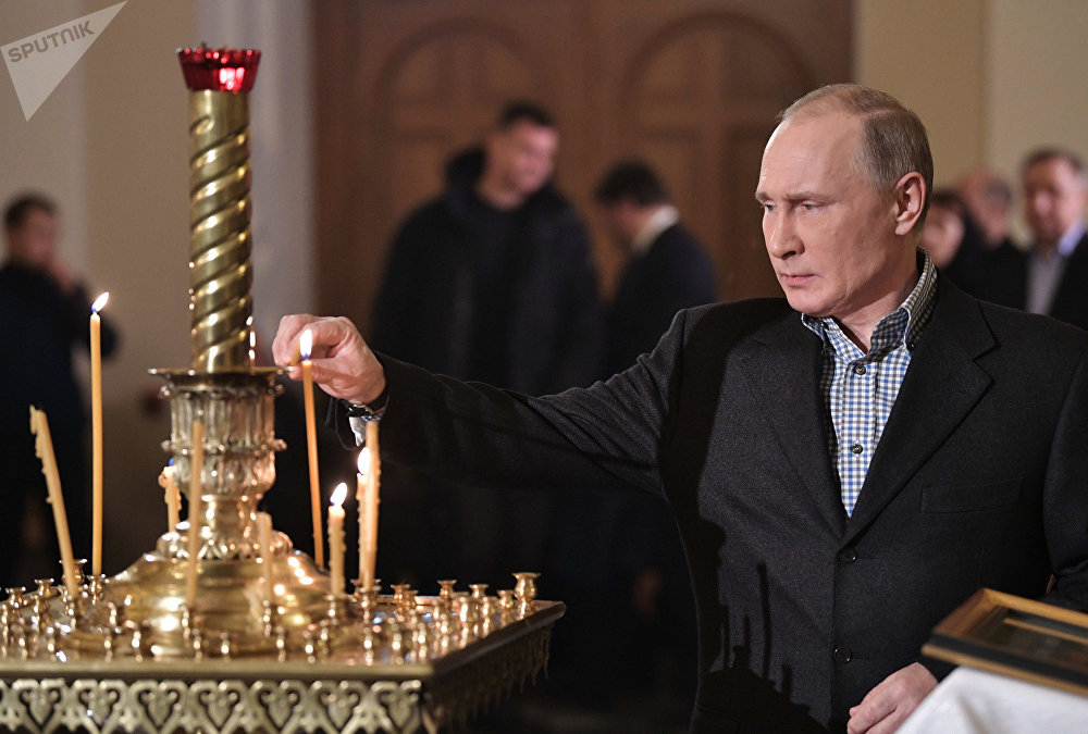РФ президенти Владимир Путин Санкт-Петербургдагы чиркөөдө