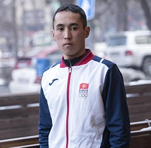 Кыргызстанский марафонец Адилет Кыштакбеков