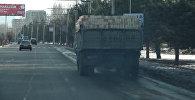 Смог над Бишкеком — кадры с высоты птичьего полета