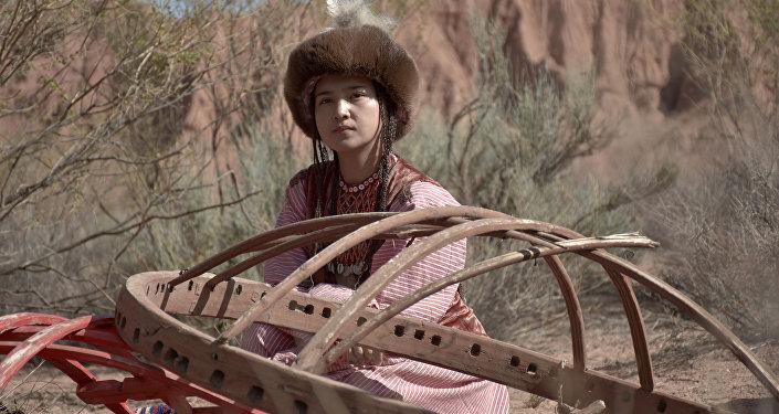 Съемки кыргызского мюзикла Дарак ыры