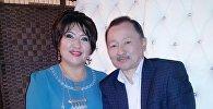 Куудул жана актриса Айнура Тургунбаева жана актер Марат Жанталиевдин архивдик сүрөт