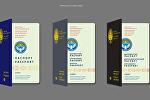Жалпы жарандык биометрикалык паспорттун эскизи