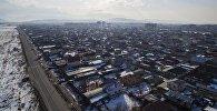 Вид на одну из новостроек Бишкека. Архивное фото