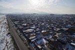 Бишкек шаарынын жаңы конуштарына көрүнүш. Архивдик сүрөт