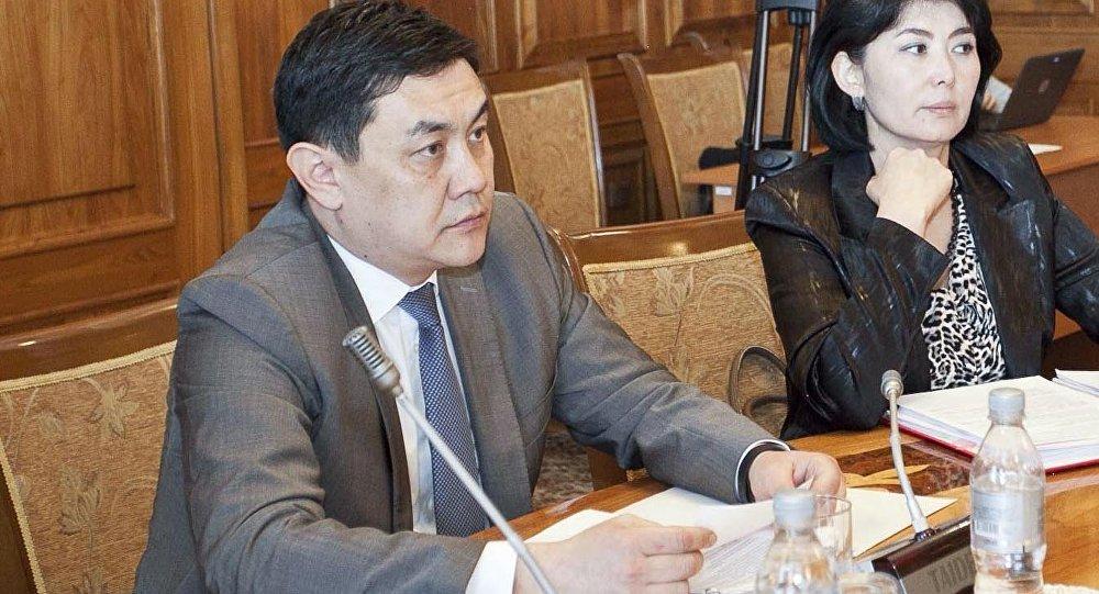 Председатель ГСН за финансовым рынком при КР Санжар Муканбетов