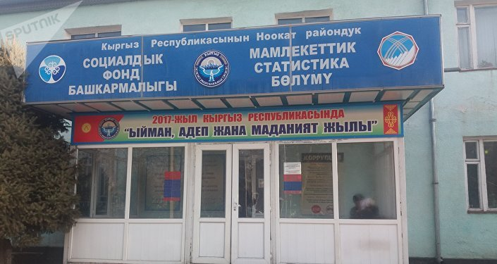 Здание отделения статистики Ноокатского района