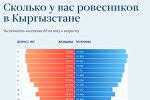 Сколько у вас ровесников в Кыргызстане