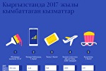 Кыргызстанда 2017-жылы кымбаттаган кызматтар
