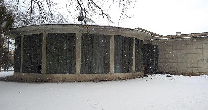 Состояние здания бывшего планетария в центре Бишкека
