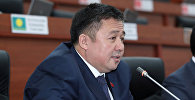 Кыргызстан фракциясынын депутаты Алмаз Эргешовдун архивдик сүрөтү