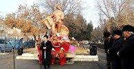 Ош шаарында залкар обончу жана ырчы Рыспай Абдыкадыровдун туулган күнүнө карата эскерүү иш-чарасы болуп өттү