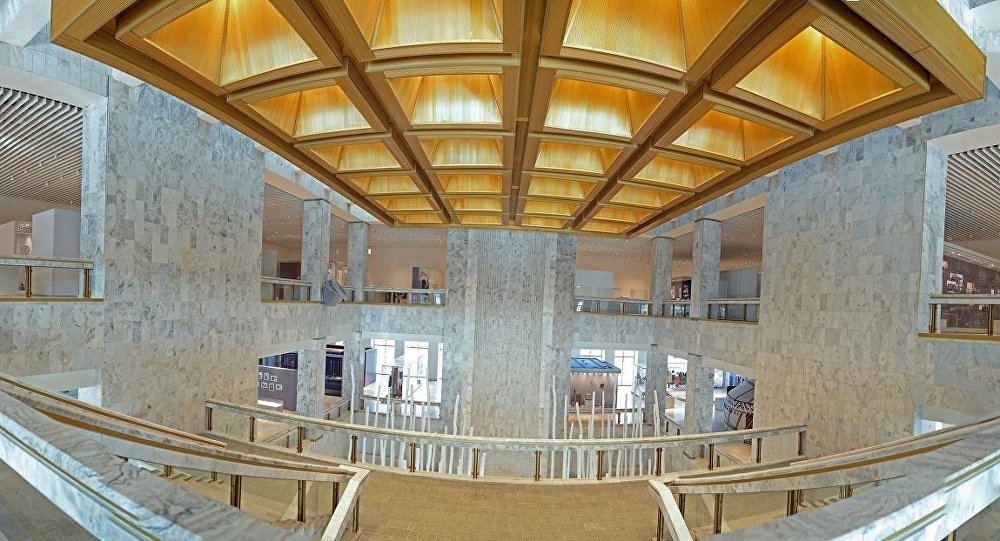 Реконструкция Государственного исторического музея Кыргызской Республики