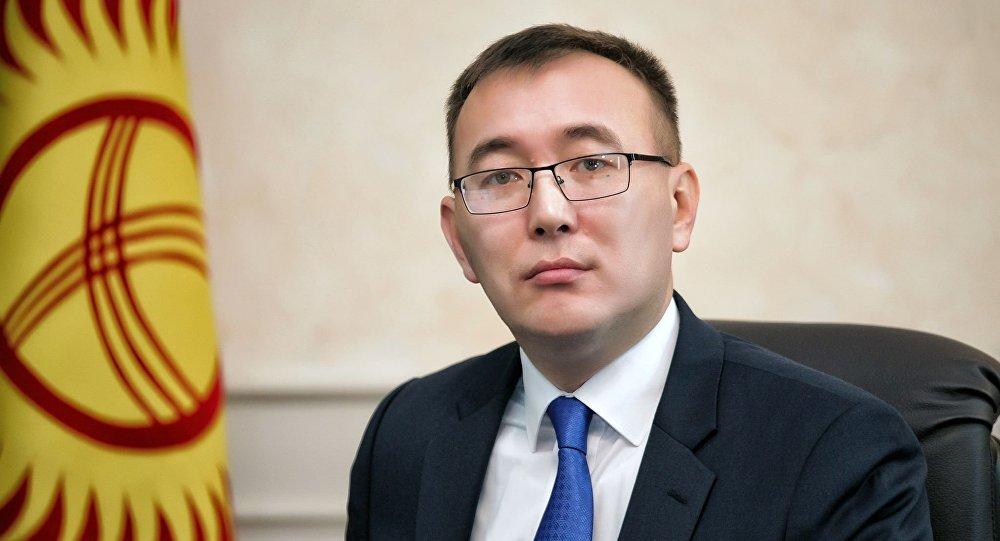 Улуттук банк төрагасы Толкунбек Абдыгулов. Архив