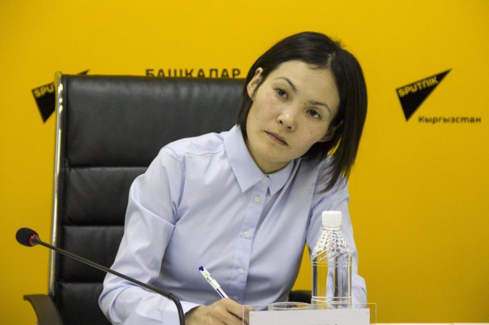 Инженер-эколог Бактыгуль Стакеева
