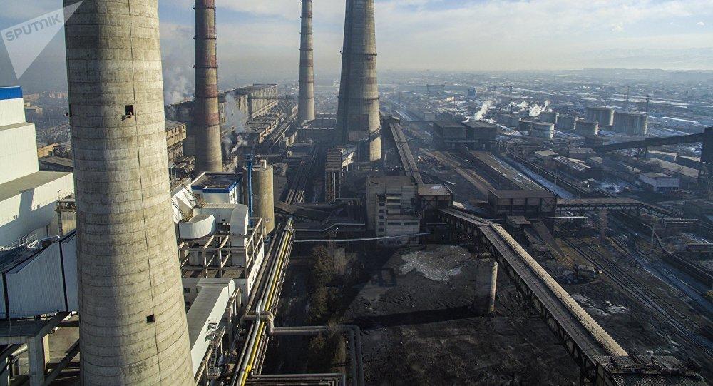 Вид на Бишкекский теплоэлектроцентраль после реконструкции. Архивное фото