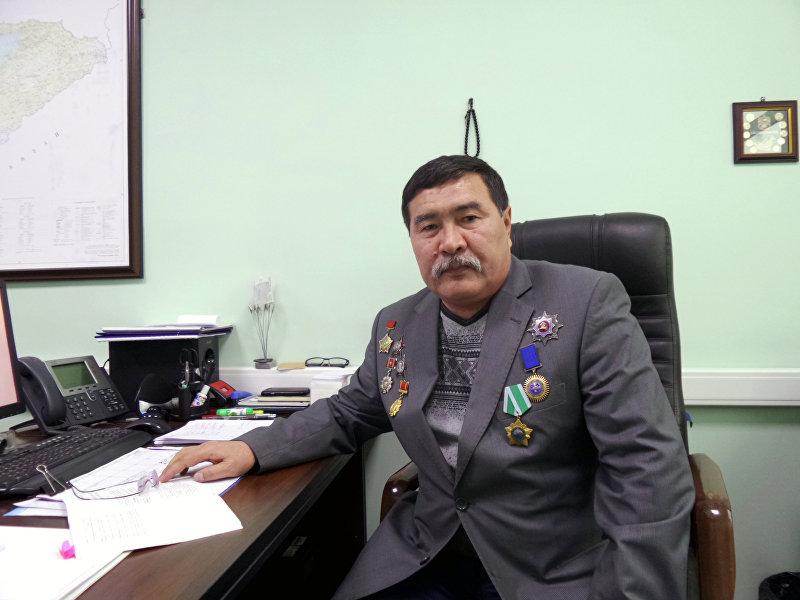 Экс-глава Национальной гвардии КР, генерал-полковник Абдыгул Чотбаев