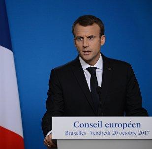 Франциянын президенти Эммануэль Макрондун архивдик сүрөтү