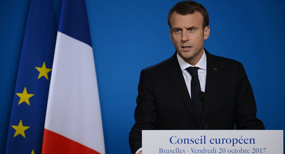 Франциянын президенти Эммануэль Макрондун архивдик сүрөт